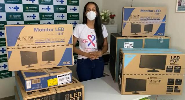 Prefeitura de Paramirim  implanta Prontuário Eletrônico em Unidades Básicas de Saúde do município