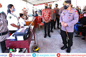 Dukung Pelaksanaan PON XX, Kapolri Minta Vaksinasi di Papua Ditingkatkan