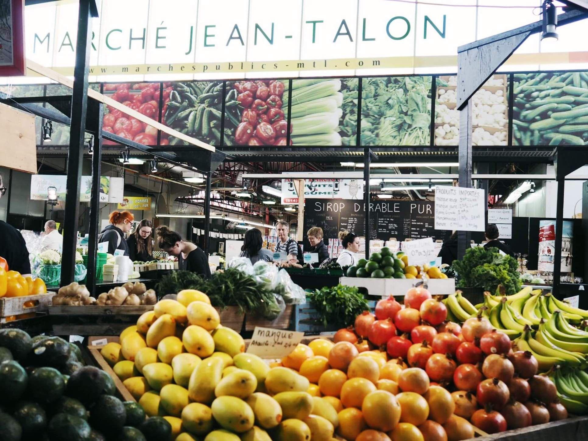 Рынок Жан-Талона в Монреале