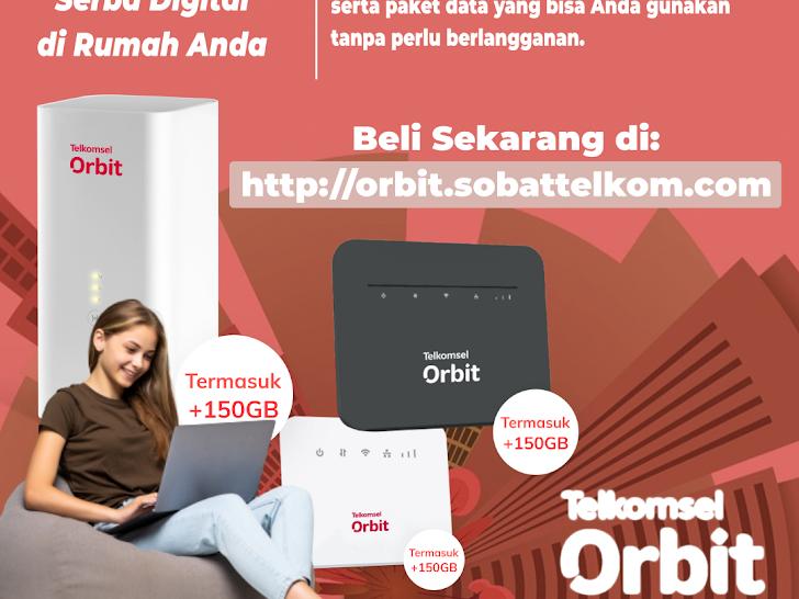 Modem Orbit - Beli untuk Wilayah Mataram Lombok NTB dan Se-Indonesia