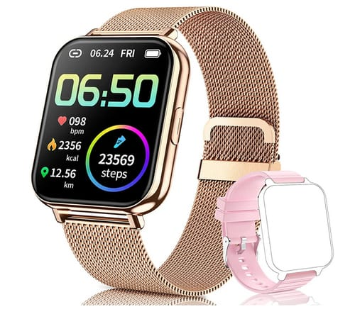 QAAEEDY Fitness Tracke Smart Watch for Android Phones iOS