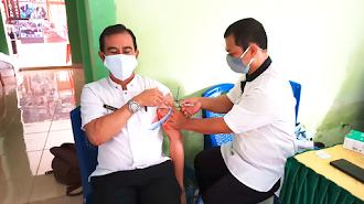 Puskesmas Suli Vaksin 40 Orang Untuk Cegah Penularan Covid-19