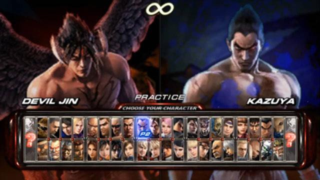 شخصيات 6 Tekken