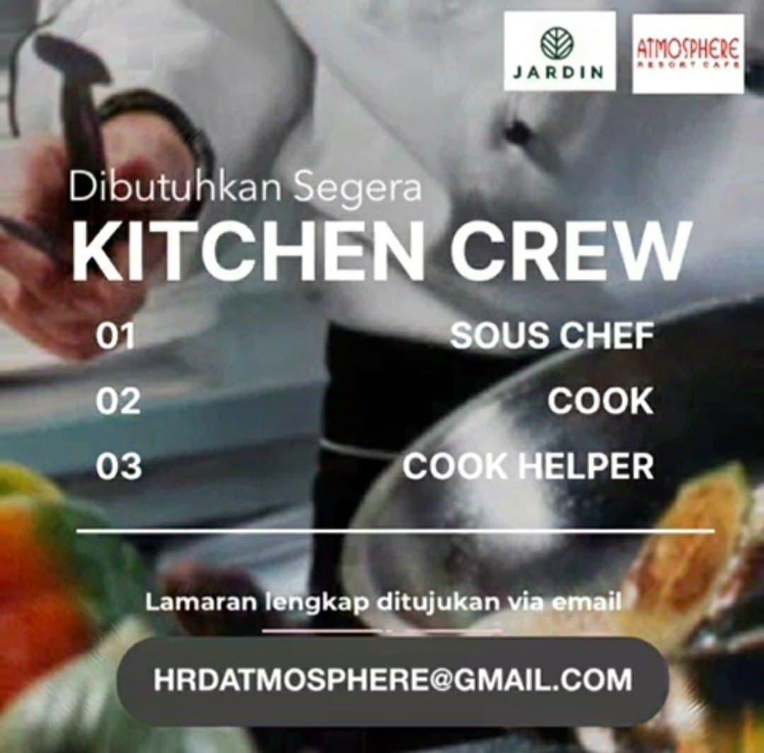 Lowongan Kerja Atmosphere Cafe Bandung Agustus 2021