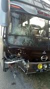 Kecelakaan Maut antara Bus Inalum VS Sepeda Motor, Satu Orang Meregang Nyawa