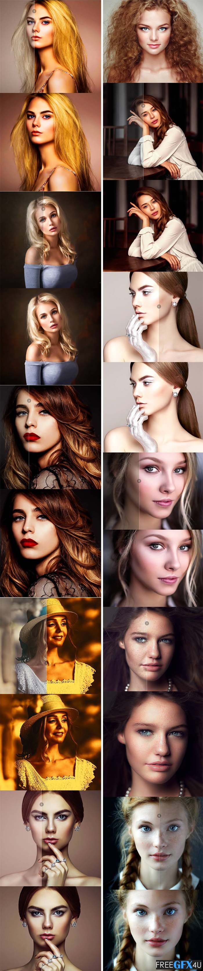 Incredible Skin Glow Effects Free Download