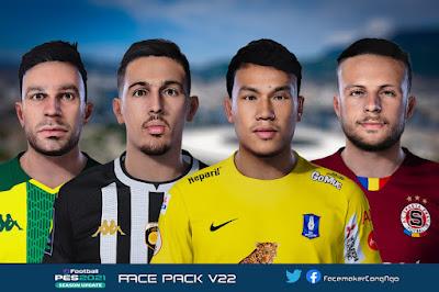PES 2021 FacePack V22 by CongNgo