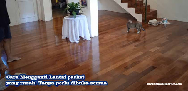 Cara Mengganti Lantai parket yang rusak