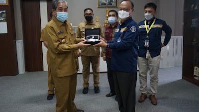 Bupati Sidrap Terima Kunjungan Tim Implementasi PUR Bank Indonesia, Tetap Terapkan Protokol Kesehatan