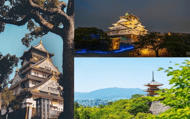 Kansai region Japan - Prefectures and places to visit