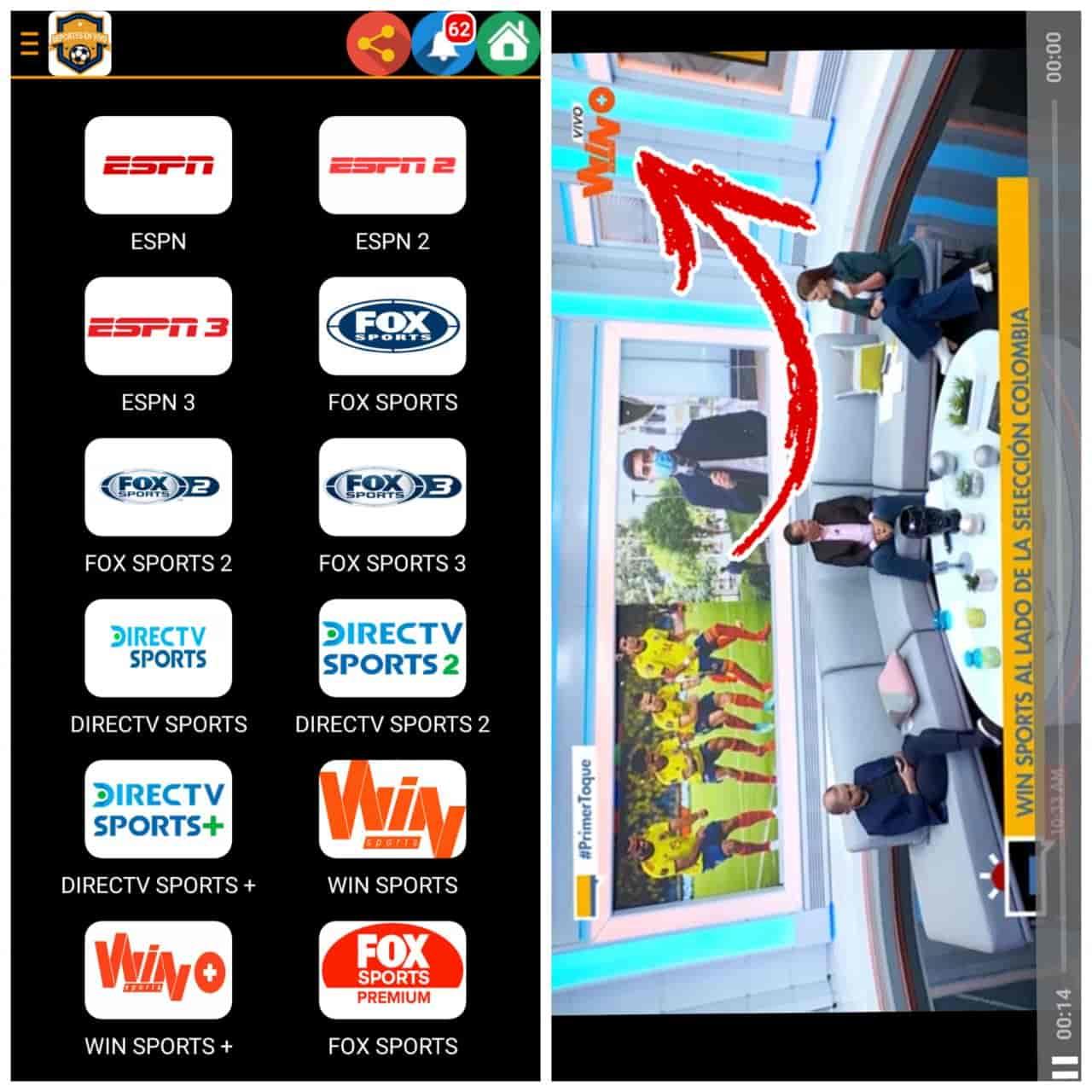 TV DEPORTES En Vivo  MEJOR App Ver Deportes en VIVO 2021