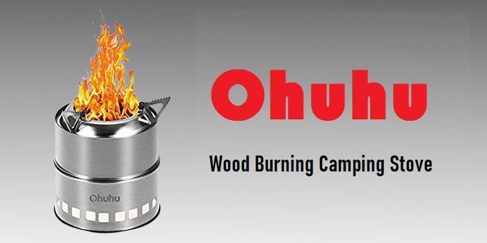 Ohuhu - Wood Burning Camping Stove