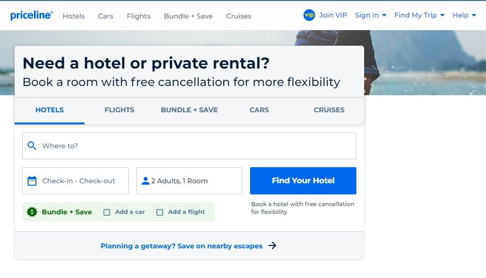 Priceline - Best 10 Hotel Booking App In India 2021 - Techmexo.com