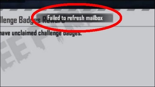 How To Fix Free Fire App Failed To Refresh Mailbox Problem Solved