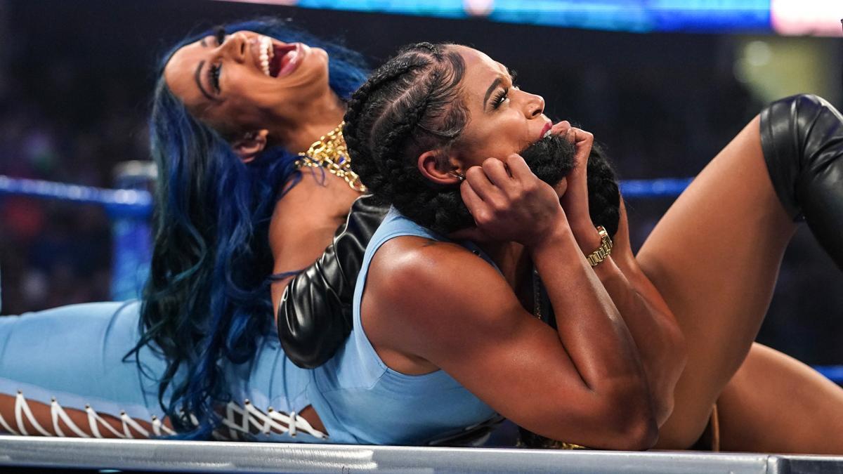 Status de Bianca Belair e Sasha Banks para o WWE SummerSlam ainda é desconhecido