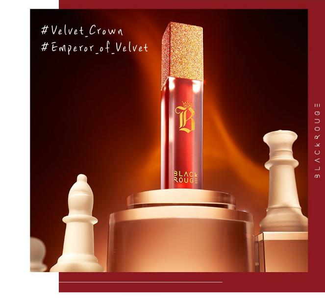 Review son Black Rouge Air Fit Velvet Tint Ver 7 Velvet Crown, full bảng màu son