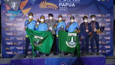 Cabang Olahraga Paralayang Kontingen Banten Sumbang 3 Medali di PON XX Papua