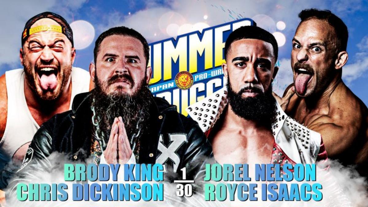 Cobertura: NJPW Summer Struggle USA (20/08/2021) – Máquina!