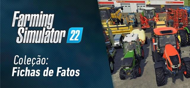 Coleção de fichas técnicas: Saiba mais sobre as máquinas e ferramentas do Farming Simulator 22! Atualizado