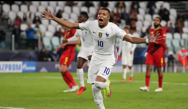 The French team upstream defeated Belgium after being 2 - 0. Photo: Eurosports
