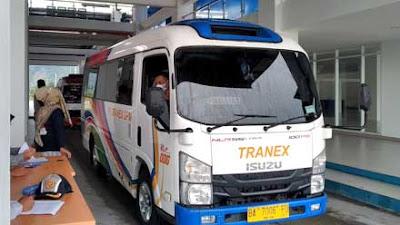 Uji Coba Pengoperasionalan Terminal Anak Aia Kota Padang Berjalan Lancar