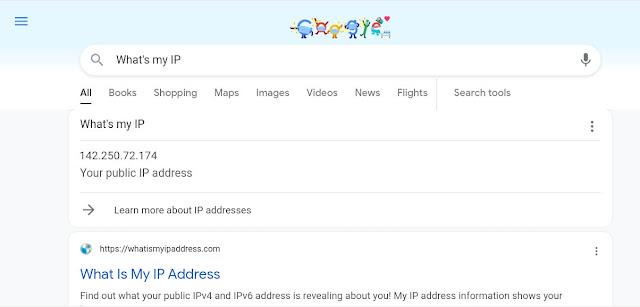 Google IP Search