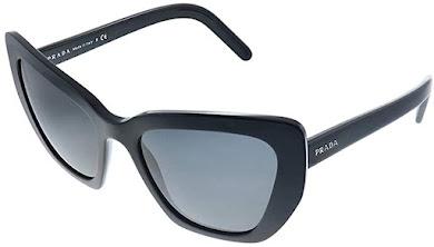 Elegant Black Prada Cat Eye Sunglasses