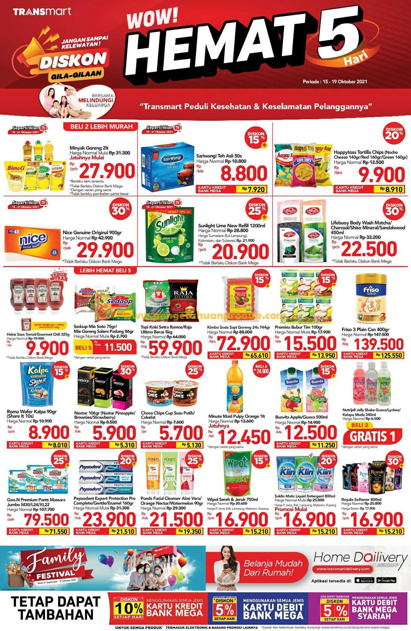 Katalog Promo Carrefour Weekend Periode 15 - 19 Oktober 2021