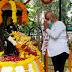 राष्ट्रवादीच्या वतीने महात्मा गांधी आणि लालबहादूर शास्त्री जयंती अभिवादन