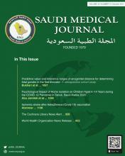 Saudi Medical Journal