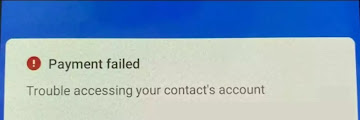 (Solution) Trouble Accessing Your Contacts Account In Google Pay
