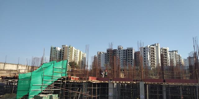 godrej air gurgaon Construction status