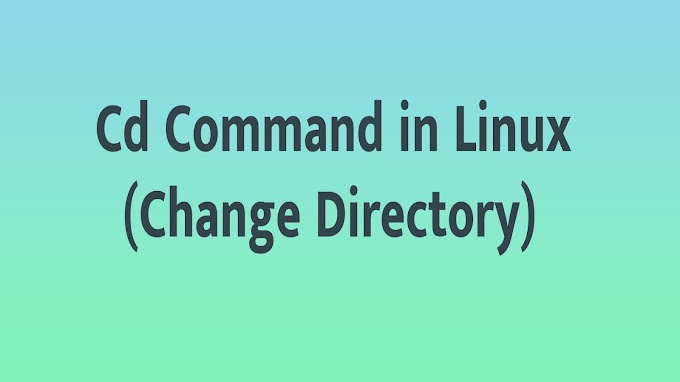 Cd Command in Linux (Change Directory)