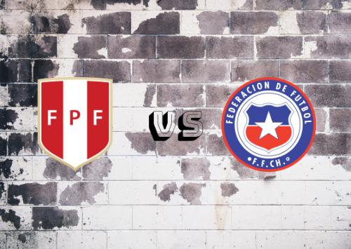 Perú vs Chile  Resumen