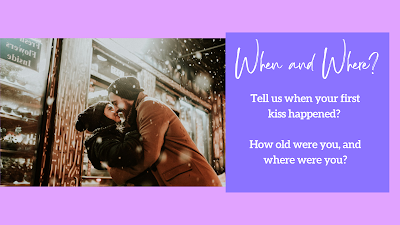 When and Where did the first kiss happen?