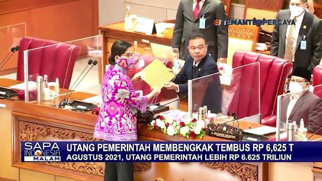 Saat Ini Sudah Rp6.625 Triliun, Utang Indonesia Diprediksi Naik Lagi 41%
