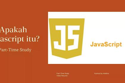 Apakah Javascript itu dan apa peranannya terhadap HTML?