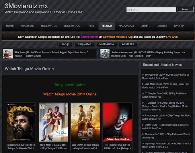 Best 10 Movierulz.vpn, 3Movierulz Alternatives Sites in 2021