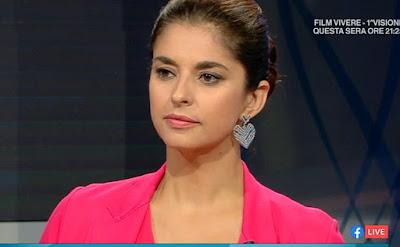 Benedetta Rinaldi bella conduttrice Elisir 8 ottobre 2021 Raitre