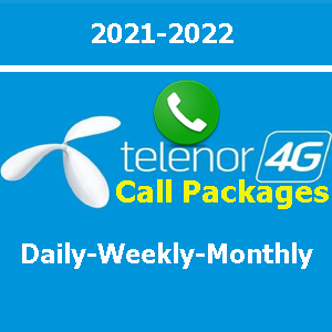 Telenor call packages daily, weekly and monthly