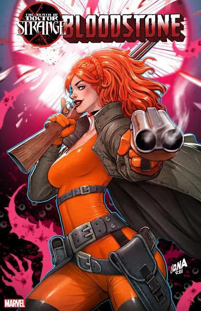 Marvel anuncia 'Death of Doctor Strange: Bloodstone' de Tini Howard.