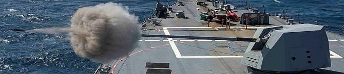 BHEL Awarded order for Upgraded Main Gun of Frontline Ships