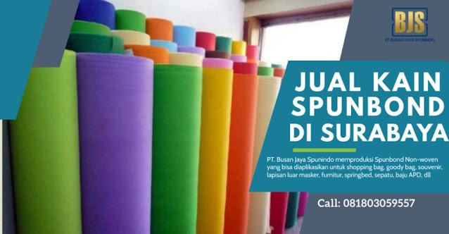 Jual Kain Spunbond Surabaya PT. Busan Jaya Spunindo