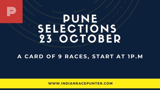Pune Race Selections 23 October
