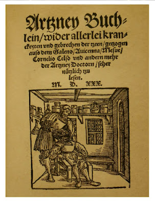 1530 the first textbook on dentistry in Germany