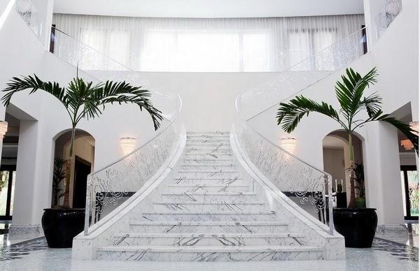 Cầu thang đá granite – Sang trọng trên từng nhịp bước chân