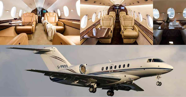 Most Luxurious Private Planes In The World - Hawker 4000 - Moniedism