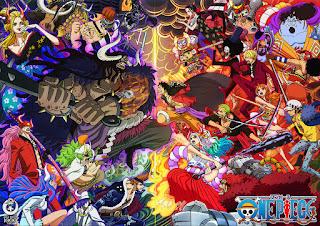 ワンピースアニメ ワノ国編 1000話 記念 ビジュアル   ONE PIECE Wano Country Arc