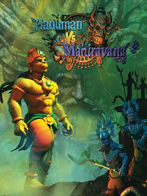 Hanuman vs. Mahiravana (2018) Hindi 720p HDRip x265 HEVC 460Mb