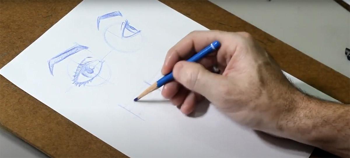 Tutorial de desenho: como desenhar os olhos do seu personagem